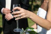 fotografia ze ślubu pary młodej